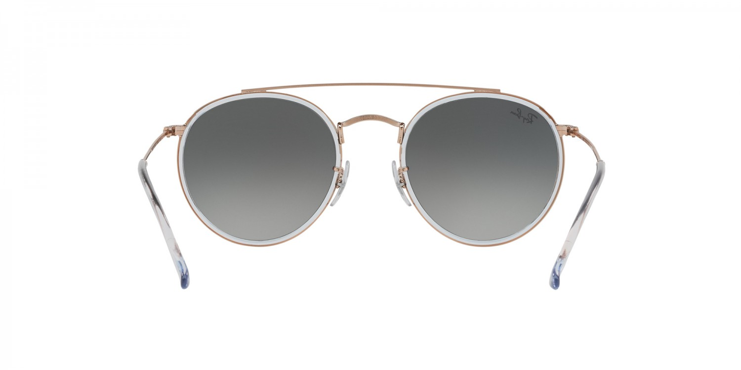 e89c592166a915 Ray-Ban ® Round Double Bridge RB3647N-906771   Aveclunettesoleil.fr