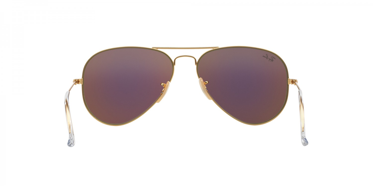 a05808a86ccf42 Ray-Ban ® Aviator Large Metal RB3025-112 19   Aveclunettesoleil.fr