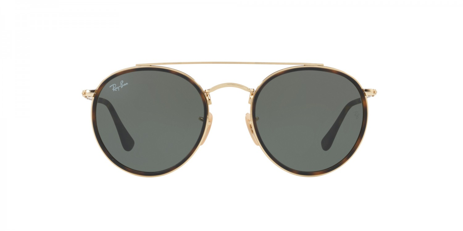 96b91e0ad2c7b0 Ray-Ban ® Round Double Bridge RB3647N-001   Aveclunettesoleil.fr