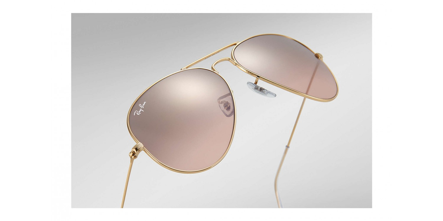Ray Aviator Rb3025 Ban ® Large 0013e Metal nOP0wkNZX8
